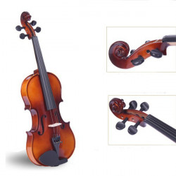 Bailing Spruce Playing Violin 4/4 with Bow Rosin Case