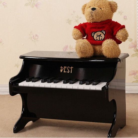 Best 25 Key Musical Instrument Educational Toys Mini Piano Wooden 2021