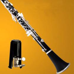 Black Mouthpiece Nickel Metal Ligature For Bb Clarinet