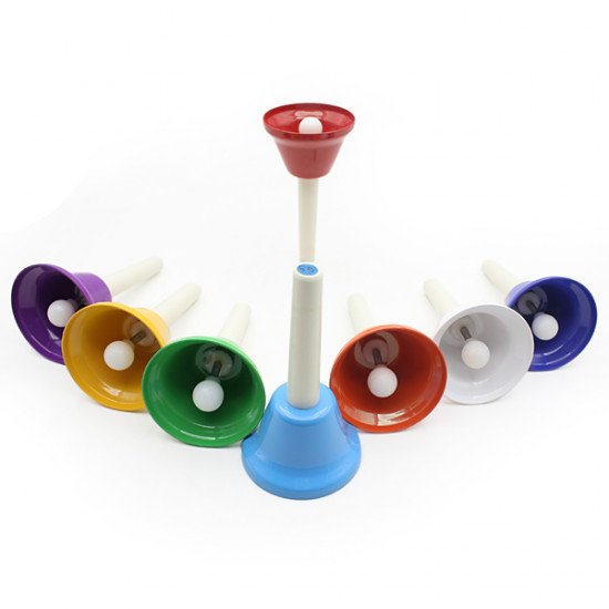 Children Baby Musical Toy Hand Bell Handbell Toy Musical Instrument 2021
