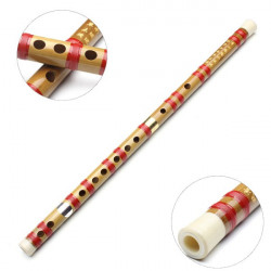 Chinese Musical Instrument G Key Bamboo Flute With Soft Pouch For Beginner