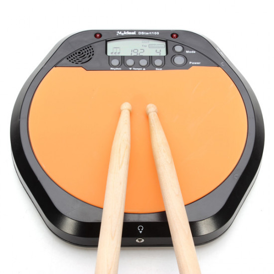 Digital Electronic Drum Pad for Training Practice Metronome 2021