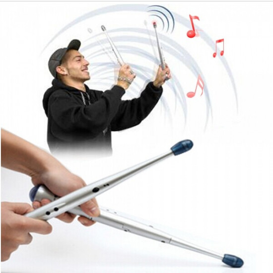 Electronic Drumsticks Rhythm Sticks Musical Party Gimmick 2021