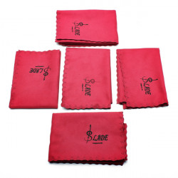 Five Pieces LADE Professional Musical Wind Instrument Cleaning Cloth