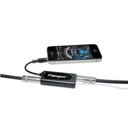 Flanger FC-20 Guitar / Bass Converter Black Adapter For Iphone