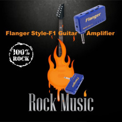 Flanger Style-F1 Miniature Portable Headphone Guitar AMP Amplifier