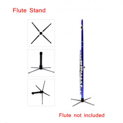 Flute Stand/Tripod Holder with 4 Legs Detachable Portable Design