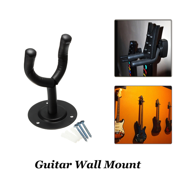 Guitar Hangers Wall Mount Hooks Stand Holder Musical Instrument Musical Instruments