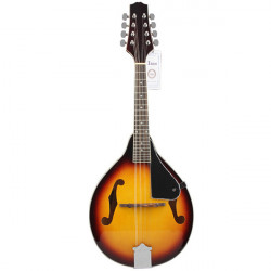 IRIN Mandolin 8 String Sunset Style Elegant Cambered Wood