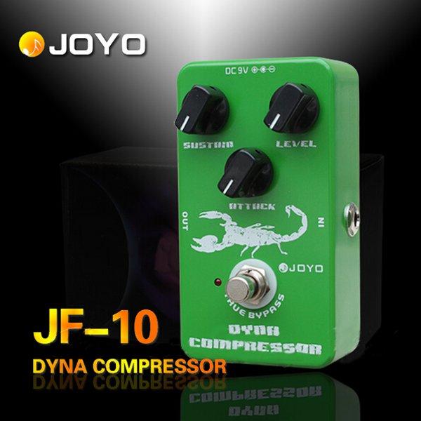 JOYO JF-10 Dynamic Compressor Guitar Effect Pedal True Bypass Musical Instruments