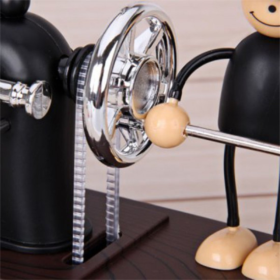 Lovely Doll Push Sewing Machine Clockwork Music Box 2021