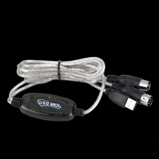 MIDI USB Cable Converter PC to Music Keyboard Adapter 2021