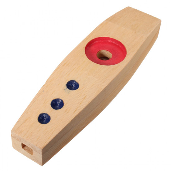 Orff Percussion Educational Toys Wooden Kazoo 2021