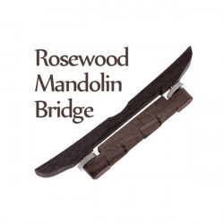 Rosewood Mandolin Guitar Bridge For Mandolin Musical Instrument