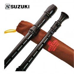 Suzuki Musical Instrument SRG-405 German 8 holes Soprano Recorder