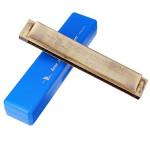 Swan SW24-14 Key Of C 24 Holes Tremolo Harmonica Cinnamon Musical Instruments