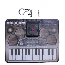Touch Sensitive DJ Music Style Playmat Set 8 Musical Instruments