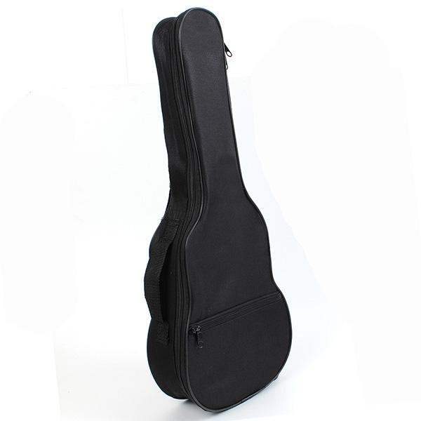 Ukulele Gig Bag Case Shoulder Strap Black Light Gear Musical Instruments