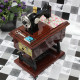 Vintage Mini Sewing Machine Mechanical Music Box Birthday Gift 2021