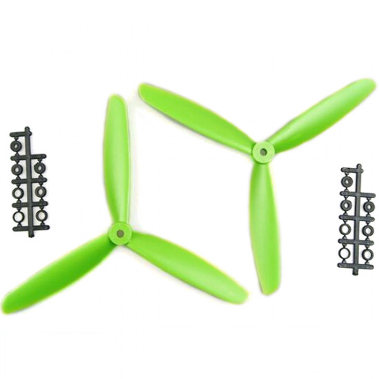 1045 3-Leaf Propeller ABS CW/CCW For 450 500 550 Frame Kit 2021