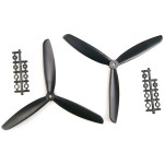 1045 3-Leaf Propeller ABS CW/CCW For 450 500 550 Frame Kit RC Toys & Hobbies