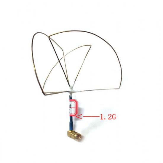 1.2G 3 Leaves 4 Leaves LHCP Omnidirectional Gain Antenna 2021