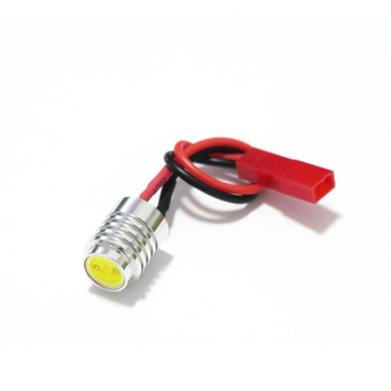 12V 1.5W Aluminum Alloy CNC LED Night Light Navigation Light White 2021