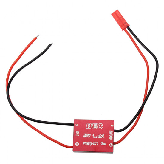 12V 3A/5V 1.5A BEC CNC Shell for 1.2G 5.8G Wireless Audio Video 2021