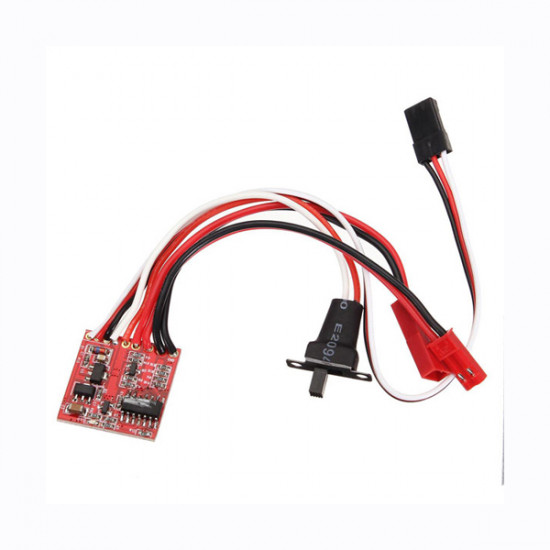 20A Double Sides Brushed ESC For RC Car/Boat 2021