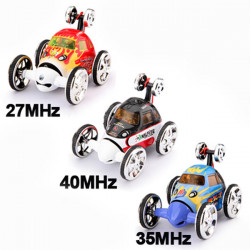 360 Degree Spin Rc Radio Wheelie Stunt Car Set