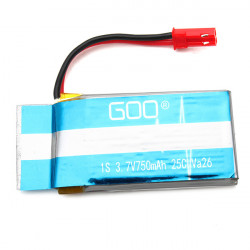 3.7V 750mAh 25C Battery For WLtoys V636 V686 V686K V686J RC Quadcopter