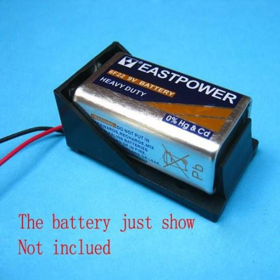 3X 9V BATTERY DC POWER ENCLOSURE HOLDER CASE 2021