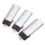3 x MCPX 1/2 WLtoys V922 and V944 500mAh 3.7V 30C Batteries RC Toys & Hobbies