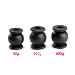 4PCS Anti-vibration Rubber Shock Absorber Ball 60g/100g/600g