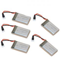 5 PCS JJRC H9D Syma X5C X5SC 3.7V 650mAh Battery