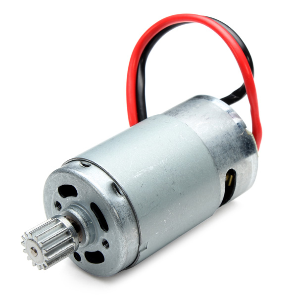 9115 2.4GHz Car Spare Parts 390 Motor With Gear 15-DJ01 RC Toys & Hobbies