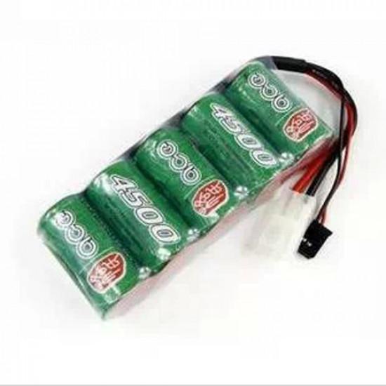 Ace SC 4500mah 6v Ni-mh Battery Pack Futaba Big Tamiya Plug 2021