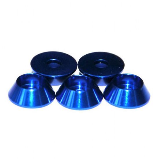 Aluminium Alloy M3 Hexagon Screw Cup-shaped Washer 5Pcs Set 2021