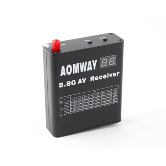 Aomway RX004 DVR 5.8G 32CH Video Receiver With Built In Video Recorder 2021