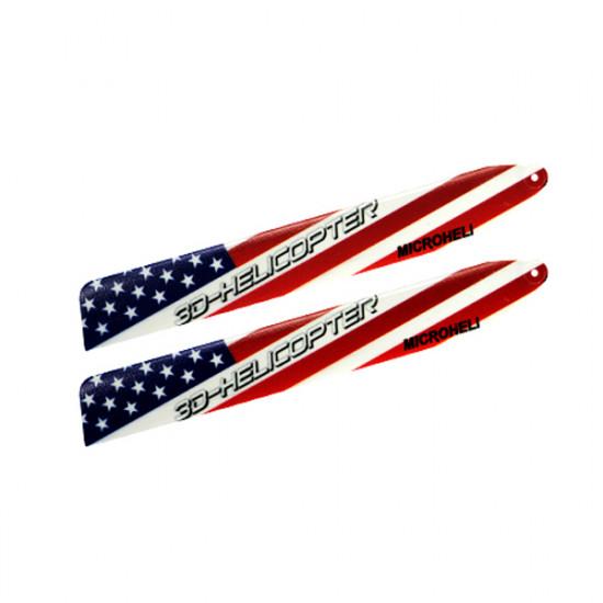 BLADE 130X MicroHeli Upgraded 3D Plastic USA Flag Main Blade 2021