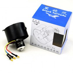 Black Tornado 64mm Ducted Fan With 2853 290W 4800KV Brushless Motor