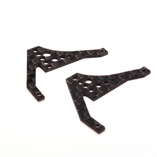 Bolt MCPX 1/2 RC Helicopter Carbon Rear Frame Plate BOH005RF-CF 2021