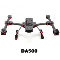 DA500 Little Inspire Carbon Fiber Alien Multirotor 500mm FPV Frame Kit