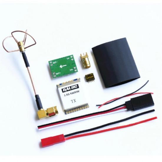 DAL DIY 5.8G 32CH FPV 600mW Wireless AV Transmission Module TX 2021