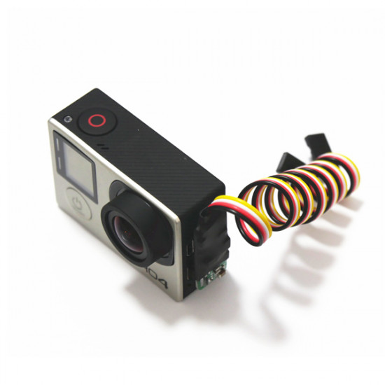 DAL G3 Gopro 3+ USB AV Video Realtime Gopro AV Cable 6-26V Output 2021
