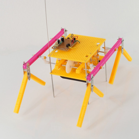 DIY Educational Assembly Toys RC Model Obstacle Robot 2021