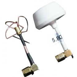 DJI 5.8G 3 Leaves Mushroom LHCP Antenna Transmitter For DJI Phantom
