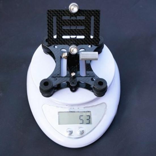DJI Phantom Carbon Fiber Anti-vibration 4-Axis FPV Gimbal for Gopro 3 2021