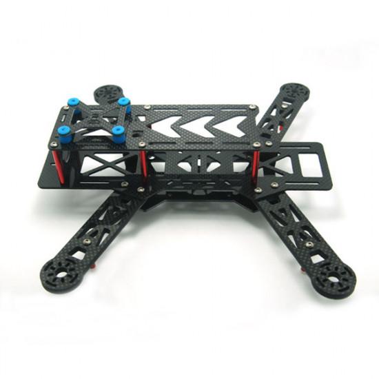 EMAX Nighthawk 250 Glass Carbon Fiber Combo CC3D MT1806 Motor 12A ESC 2021