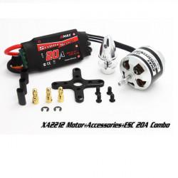 EMAX XA2212 820KV 980KV1400KV Motor With Simonk 20A ESC
